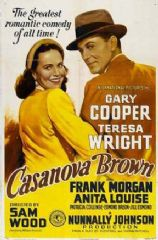 Casanova Brown 1944 DVD - Gary Cooper / Teresa Wright